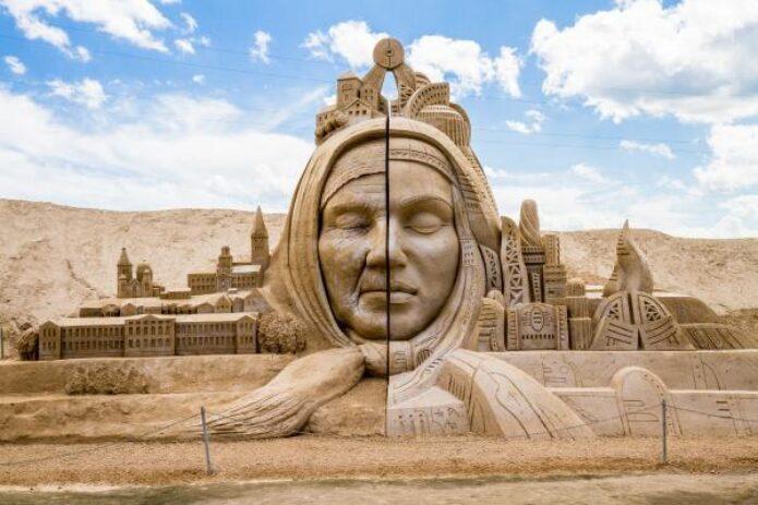 """Smėlio skulptūros, pasakiškas Tervetės parkas ir """"Šitake"""" grybai"""
