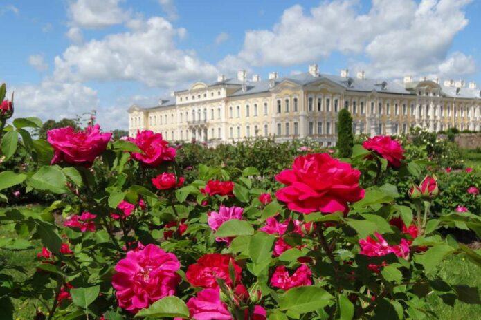 """Rožės Rundalės rūmuose, šaltalankių sodas ir gardieji """"Blūdži"""" sūriai"""